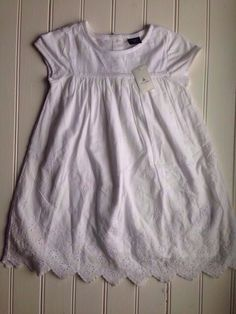 Check out this listing on Kidizen: NWT Gap Eyelet Dress via @kidizen #shopkidizen
