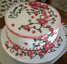 graduation cakes | Graduation cake for teenage girl, Class of 2012, vanilla ABC, 2tone ...
