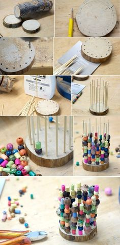 DIY Stiftehalter Best Picture For montessori materials For Your Taste You are looking for something, Montessori Trays, Montessori Activities, Activities For Kids, Diy And Crafts, Crafts For Kids, Diy Pins, Fine Motor Skills, Early Childhood, Handicraft