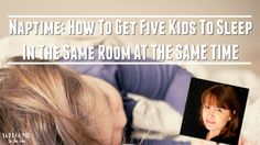 It's the age-old question, right? How to get 5 or more toddlers and infants to sleep at the same time. And it all comes down to one basic practice: consistency. Watch to see the rest of my ti…