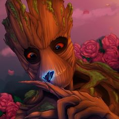 Groot wallpapers - Tap to see more cute baby Groot wallpapers! | @mobile9