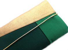Handytasche+GOLD+-+smaragd+von+vivilovely+auf+DaWanda.com