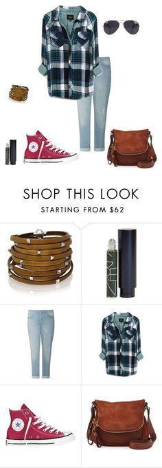 """""""Untitled #277"""" by micha-p ❤ liked on Polyvore featuring Sif Jakobs Jewellery, Terveer, Jigsaw, Rails, Converse, Tom Ford and NLY Accessories"""