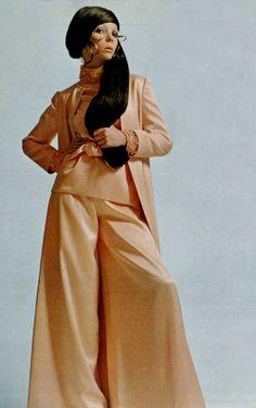 Penelope Tree by David Bailey for Vogue Italia, 1969.