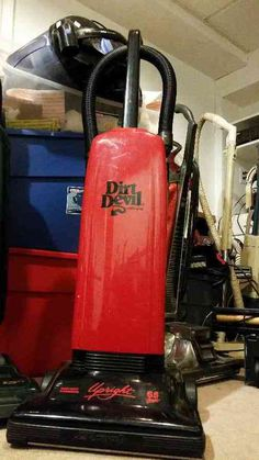 What is the most unusual vintage commercial vacuum cleaner? Dirt Devil Vacuum, Commercial Vacuum, Vacuums, Vintage, Vacuum Cleaners