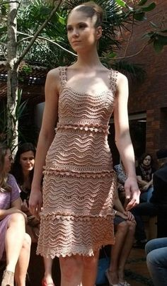 """Wave"" dress by Vanessa Montoro"