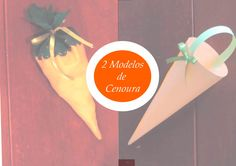 Páscoa::2 modelos de cenoura