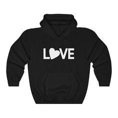 L-O-V-E Hooded Sweatshirt - Black / XL