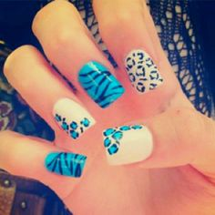 Animal Print Nails. #Repin By:Pinterest++ for iPad#