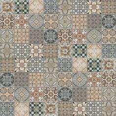 Textures Texture seamless | Patchwork tile texture seamless 16612 | Textures - ARCHITECTURE - TILES INTERIOR - Ornate tiles - Patchwork | Sketchuptexture