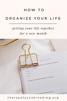 How to organize your life each month Get your life together for the upcoming month by getting organized Get Your Life, Organize Your Life, Make Money Online, How To Make Money, Planner Tips, Time Management Tips, Organization Hacks, Organization Station, Get Excited