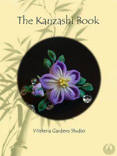 Tsumami Kanzashi  Tutorial Book by WisteriaGardens on Etsy, $15.00