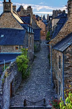 ~~Medieval street | cobblestone street, Dinan, Brittany, France | by Rolde~~