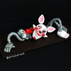 Mangle Polymer Clay Figurine from Five Nights at by ArtzieRush