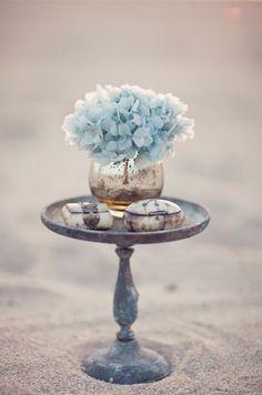 Sea Glass Wedding Inspiration | Burnett's Boards - Daily Wedding Inspiration