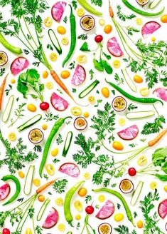 Colorful Healthy Food Arrangements – Fubiz Media