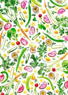 Colorful Healthy Food Arrangements – Fubiz Media
