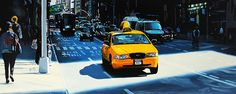 """NEW YORK 10"" By Socrates Rizquez 2014 - Enamels on panel painting. Pintado con esmaltes sobre madera. www.socrates-art.es // Thanks to my eyes in NYC, Benoît Denlaud."