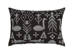 Image of Maailman synty interior pillow | Maailman synty -sisustustyyny