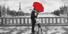 Home Affaire Bild Kunstdruck »Romantic«, 100/50 cm