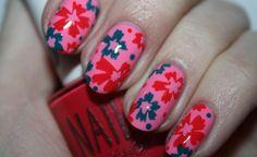 love in bloom....pretty color combo