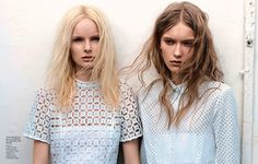 #f magazine #blue fashion