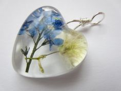gorgeous resin pendant