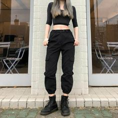 27 New Ideas For Salsa Dancing Outfit Practice Edgy Outfits, Korean Outfits, Mode Outfits, Grunge Outfits, Dance Outfits, Grunge Fashion, Girl Fashion, Girl Outfits, Fashion Outfits