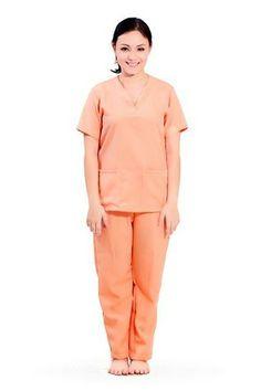 Love NeatNanny's simple and stylish yaya scrub suit uniforms!