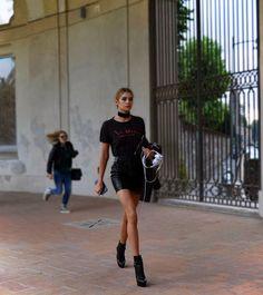 On the street Via Besana Milan www.maurodelsignore.com