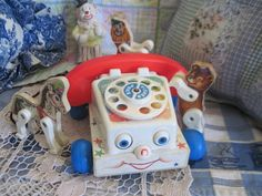 Fisher Price Vintage Chatter Phone Toy by Daysgonebytreasures, $8.00