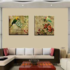 Impresiones en Lienzo Canvas montadas sobre bastidor de madera.