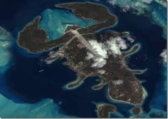 Aerial photo of Lobster Island