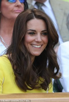 Duchess of Cambridge recycles dress for Wimbledon | Daily Mail Online