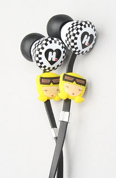 The Harajuku Lovers Wicked Style In-Ear Headphones with Interchangeable Faces from Monster by Beats by Dre $70.00