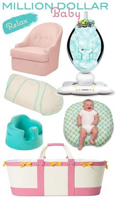 baby checklist lounging
