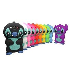 Cuties 3D Stitch with Movable Ears Silicone Rubber Soft Case Cover for Samsung Galaxy S3 i9300 (Color Optional)
