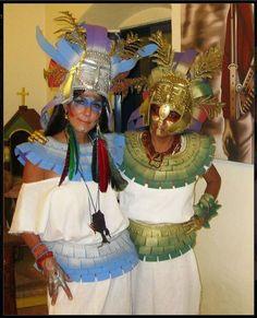aztec costume - Google Search  sc 1 st  Pinterest & Aztec Headdress ideas for kids | Aztec for Kids | Pinterest ...