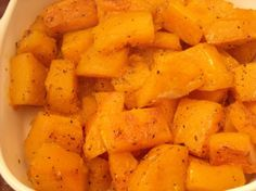 Savory Roasted Butternut Squash -- Cluck!. Photo by mums the word