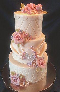 Свадебный  #торт_на_заказ_сумы #ярусные #бисквитный_торт