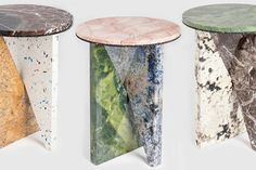 Side tables by Jonathan Zawada (IrèneIrène)