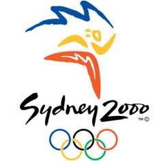 Sydney use 3 colors to form an image of running athlete relaying the Olympic torch. Blue carve out the form of Sydney Opera House; red and yellow shape the running image. Each color of the logo has symbolic meanings: blue refers to the blue harbor; yellow represents sun and beach; red means the native culture.