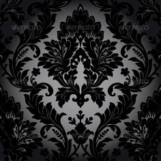 Seamless Damask Pattern — Vector EPS #victorian #floral • Available here → https://graphicriver.net/item/seamless-damask-pattern/4821286?ref=pxcr