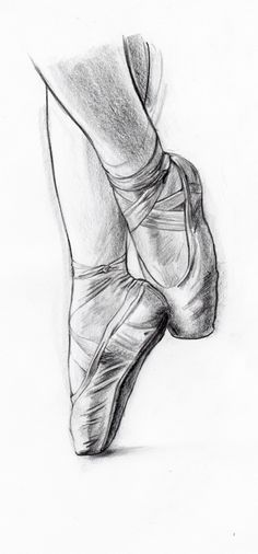 Learn to Draw: Ballet Shoes, Ballerina, Dancer, Dancing (Dunway Enterprises) http://dunway.biz/pencil_drawing/index.html