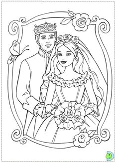 Barbie Princess And The Pauper Coloring Pages