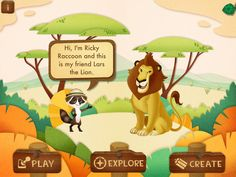 Ranger Rick Jr Appventures Lions - Multimedia interactive story book with engaging learning games.   #apps #kids #elementary @wildanimal