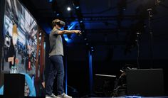 Mark Zuckerberg put on a headset and showed why he thinks you will want to hang out with friends in virtual space.