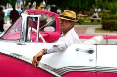 Pink Cuba Car