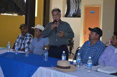 El Presidente Municipal, David Martínez Garrido, se reunió con representantes de la CONAGUA y productores de los diferentes Distritos de Riego de la región.
