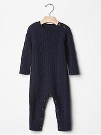 Cable knit one-piece Product Image
